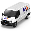 FedEx Van Front Emoticon