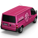 Dribbble Van Back Emoticon