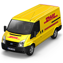 Dhl Van Front Emoticon