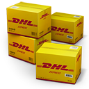 DHL Shipping Box Emoticon