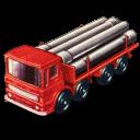 Pipe Truck Emoticon