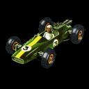 Lotus Racing Car Emoticon