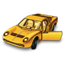 Lamborghini Miura Emoticon