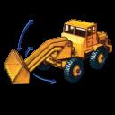 Hatra Tractor Shovel With Movement Emoticon
