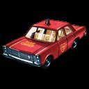 Fire Chief Car Emoticon