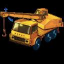 Dodge Crane Truck With Movement Emoticon