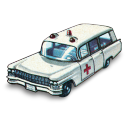 Cadillac Ambulance Emoticon