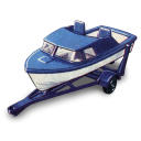 Boat And Trailer Emoticon